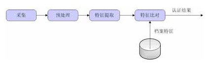 图1生物识别技术处理流程图