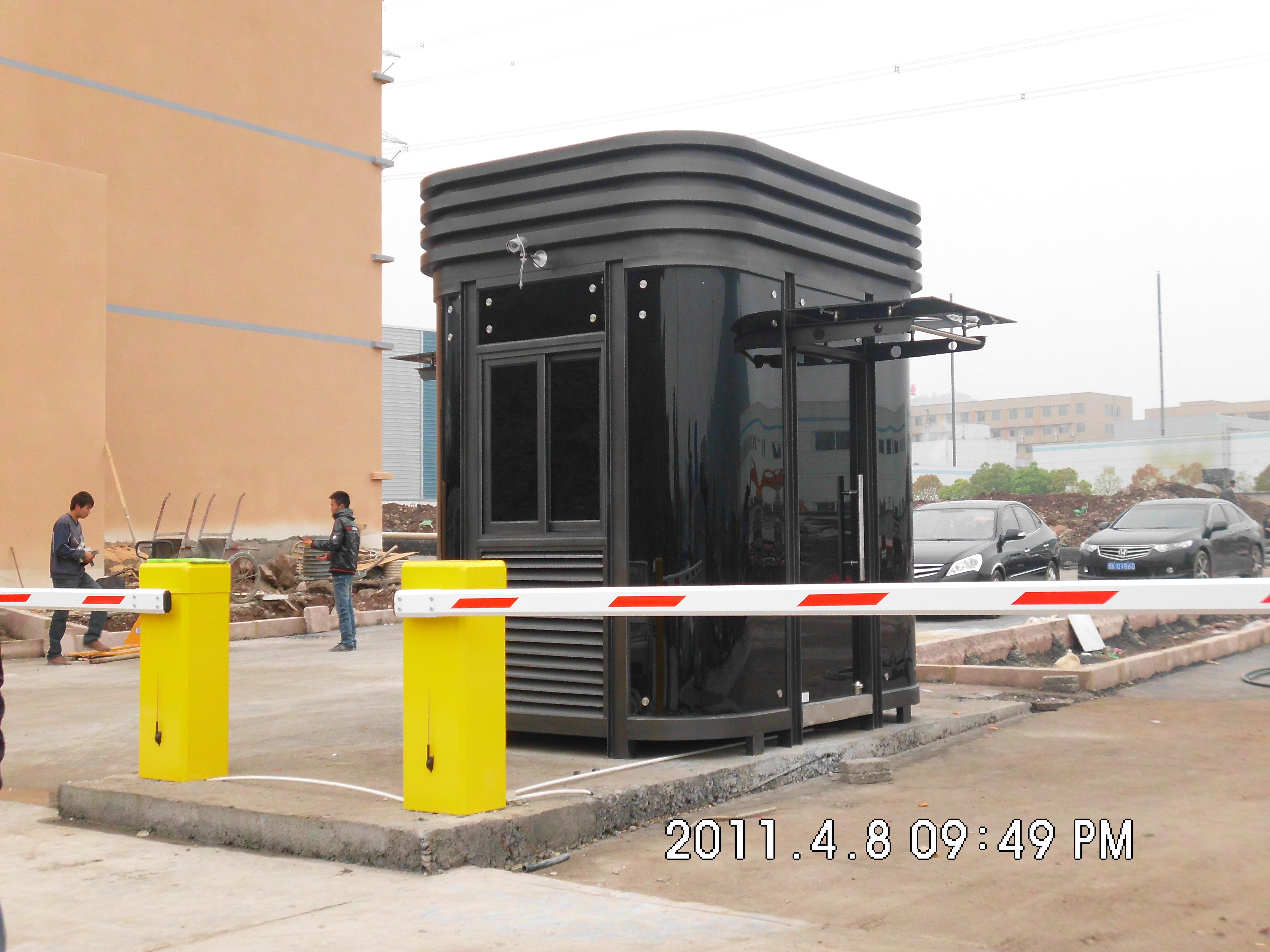 祝贺丽水绿谷光伏科技园豪华型钢结构岗亭交付使用!