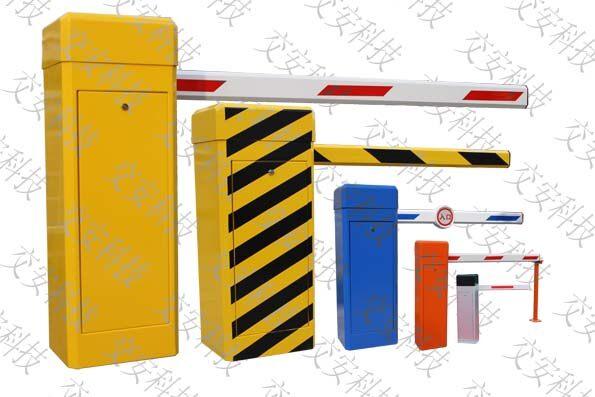 """品牌:交安 技术参数: 道闸类型:直杆型(有八角杆、伸缩杆、豪华杆三种可供选择) 颜色可选 长  度:1 ~ 6米 升降时间:3 ~ 6秒 工作原理:涡轮传动一体机 通讯协议:RS485接口或地感检测保护装置 箱体尺寸:340×280×1000mm 工作电源:AC220V/150W 机身净重:55kg 适用温度:-40 ~ +85 主要功能: * 手动按钮可作 """"升闸""""、""""降闸""""及""""停止"""" 操作 * 无线遥控"""