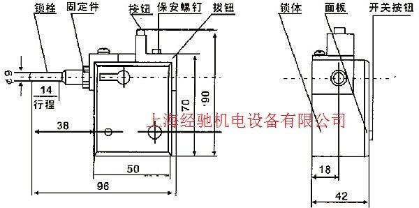 变压器电磁锁接线图工作源里