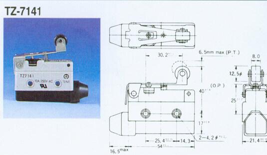 tz-7141-tz-7141限位开关-上海约瑟电器有限公司