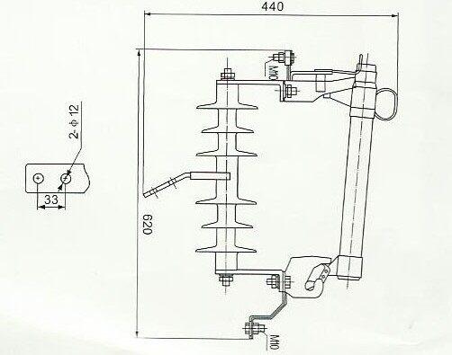 hrw11-10kv户外跌落式熔断器